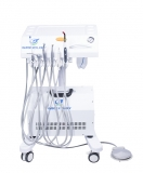 High quality Multi-functional dental portable unit,self-contained compressor(stainless steel tank), convenient,best choice!  GU-P302,CE