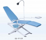 Portable dental chair GU-P109, practical and convenient ,CE