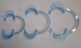 3XC-Form dental cheek retractor,Lippe Retractor,Mundöffner,mouth opener,blau LMS