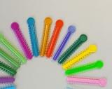 1040 stk Dental Elastische Ligaturen /orthodontic Ligature ties,mixed color,CE